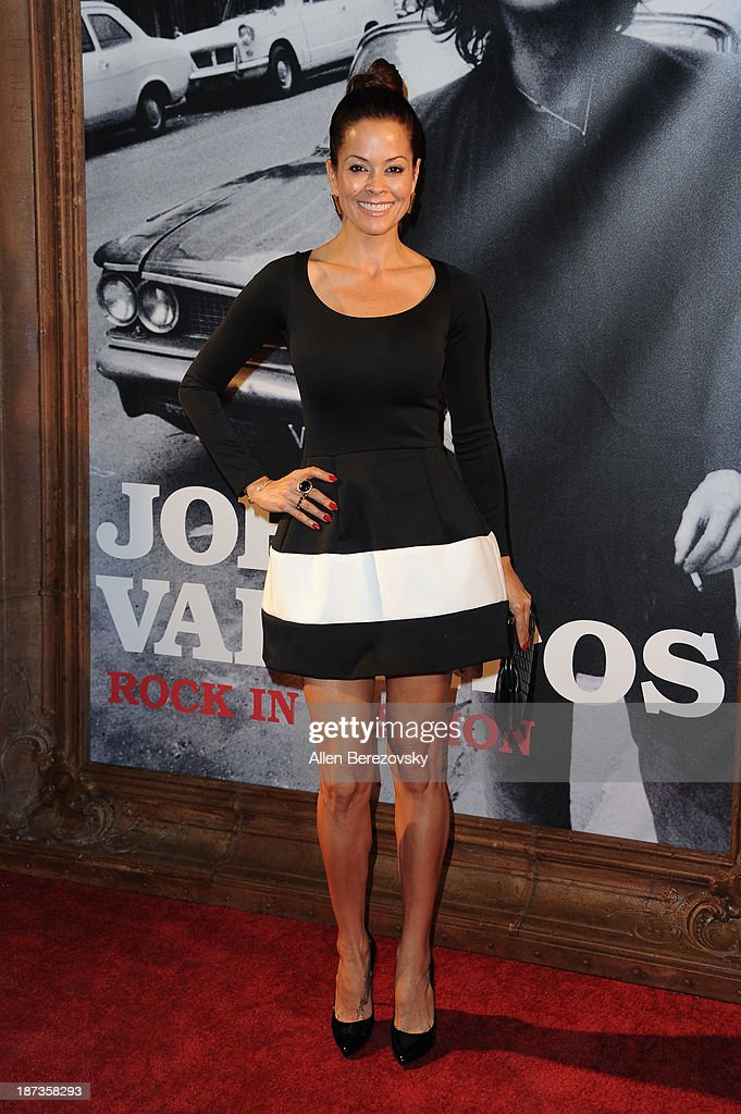 Actress Brooke Burke-Charvet attends the John Varvatos' new book 'John Varvatos: Rock In Fashion' launch party at John Varvatos Los Angeles on November 7, 2013 in Los Angeles, California.