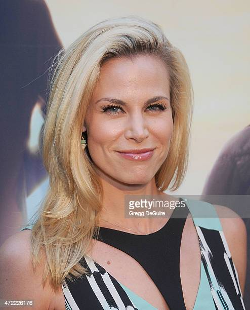 Actress Brooke Burns arrives at the Los Angeles premiere of 'Where Hope Grows' at ArcLight Cinemas on May 4 2015 in Hollywood California