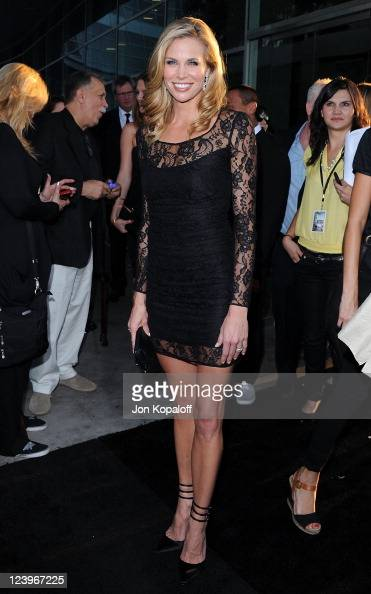 Actress Brooke Burns arrives at the Los Angeles Premiere 'Warrior' at ArcLight Hollywood on September 6 2011 in Hollywood California