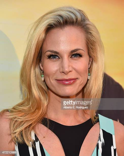 Actress Brooke Burns attends the premiere of Roadside Attractions' Godspeed Pictures' 'Where Hope Grows' at The ArcLight Cinemas on May 4 2015 in...