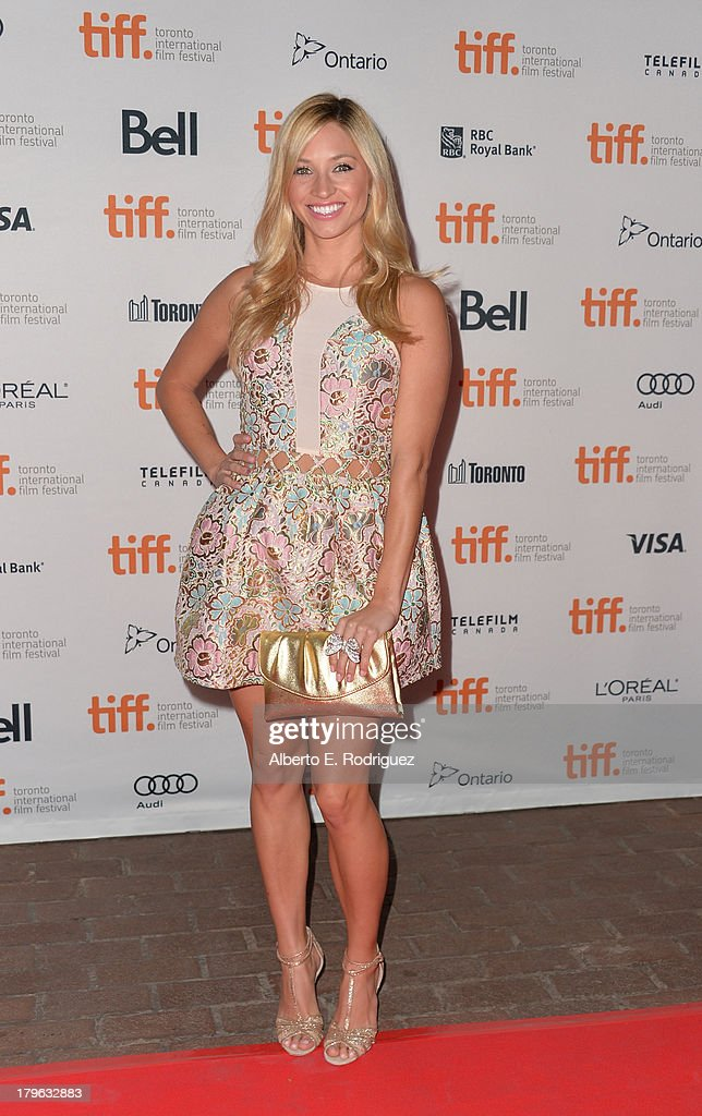 Actress Brooke Butler arrives at the 'All Cheerleaders Die' premiere during the 2013 Toronto International Film Festival at Ryerson Theatre on...
