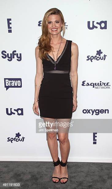Actress Brooke D'Orsay from 'Royal Pains' attends the 2014 NBCUniversal Cable Entertainment Upfronts at The Jacob K Javits Convention Center on May...