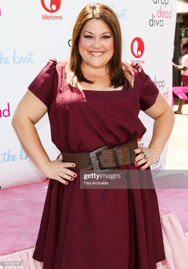 Actress Brooke Elliott Attends The Drop Dead Diva Official Wedding Themed Obstacle Course