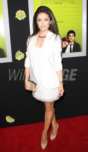 Actress Brooke Lyons Attends The Premiere Of Summit Entertainments