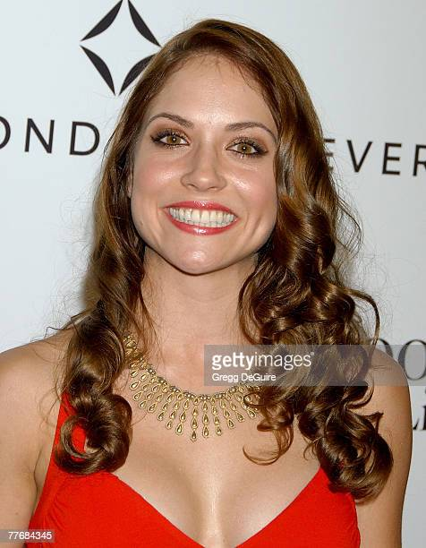 Actress Brooke Nevin arrives at Movieline's Hollywood Life Style Awards at the Pacific Design Center on October 7 2007 in West Hollywood California
