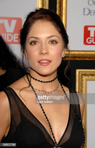 Actress Brooke Nevin arrives at the The 59th Primetime EMMY Awards TV Guide After Party at Les Deux on September 16 2007 in Hollywood California