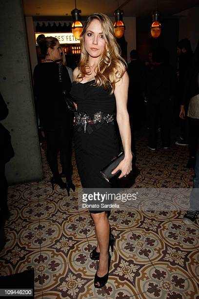 Actress Brooke Nevin attends Vanity Fair Campaign Hollywood 2011's DJ Night at Palihouse with L'Oreal and Lucky Jeans at Palihouse on February 25...