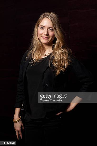 Actress Brooke Nevin poses in The Photo Studio in HAVEN360 Day 2 at Andaz on February 26 2011 in West Hollywood California