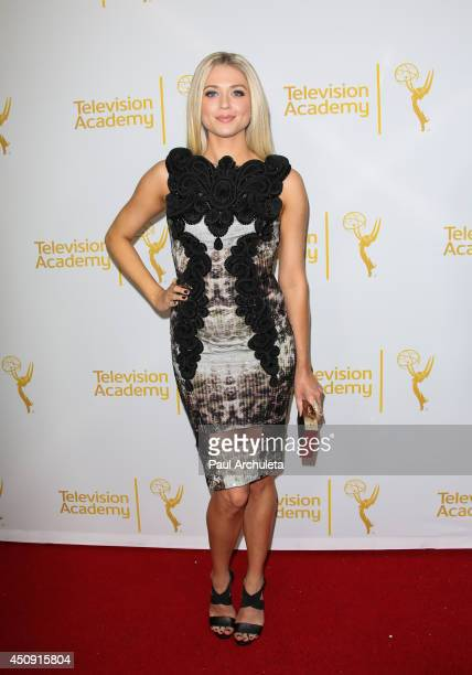 Actress Brooke Newton attends the Daytime Emmy Nominee Reception at The London West Hollywood on June 19 2014 in West Hollywood California