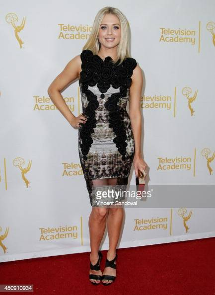 Actress Brooke Newton attends the Television Academy Daytime Emmy Nominee reception at The London West Hollywood on June 19 2014 in West Hollywood...