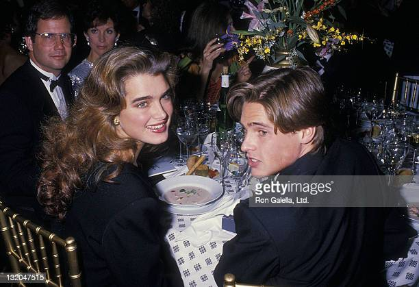 Actress Brooke Shields and actor William McNamara attend the Metropolitan Home Magazine's 'Metropolitan Home Showcase' Opening Night Gala to Benefit...