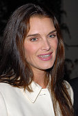 Actress Brooke Shields arrives to the annual Oceana Partner's Awards Gala honoring former Vice President Al Gore at the home of Jena and Michael King...