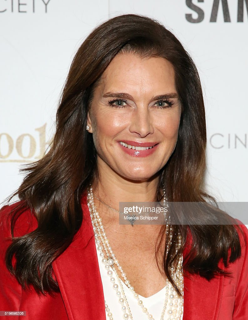 Actress Brooke Shields attends Disney With The Cinema Society ...