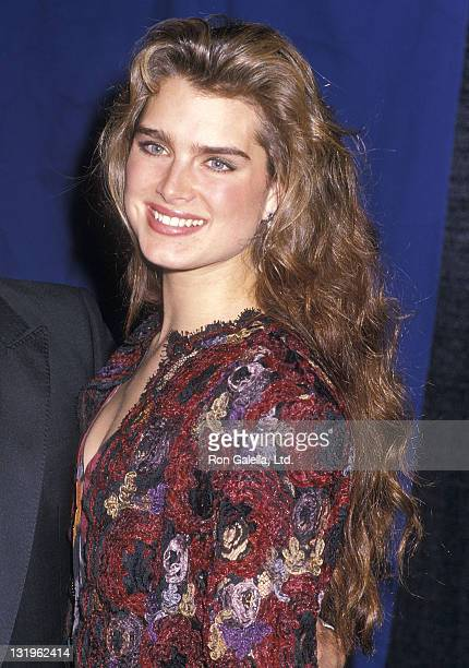 Actress Brooke Shields attends the 14th Annual People's Choice Awards on March 13 1988 at 20th Century Fox Studios in Century City California