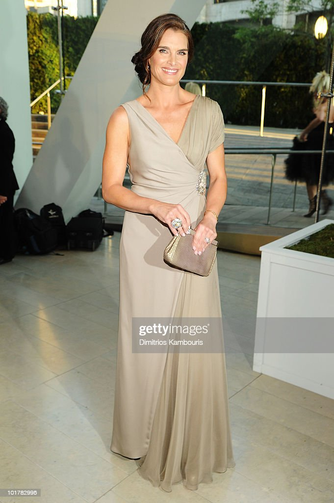Actress Brooke Shields attends the 2010 CFDA Fashion Awards at Alice Tully Hall Lincoln Center on June 7 2010 in New York City