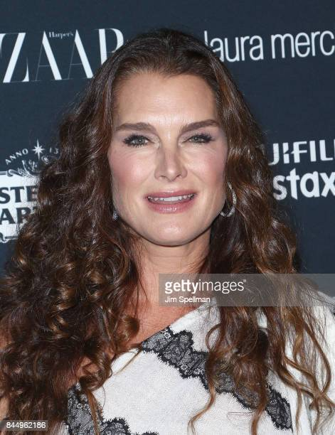Actress Brooke Shields attends the 2017 Harper's Bazaar Icons at The Plaza Hotel on September 8 2017 in New York City