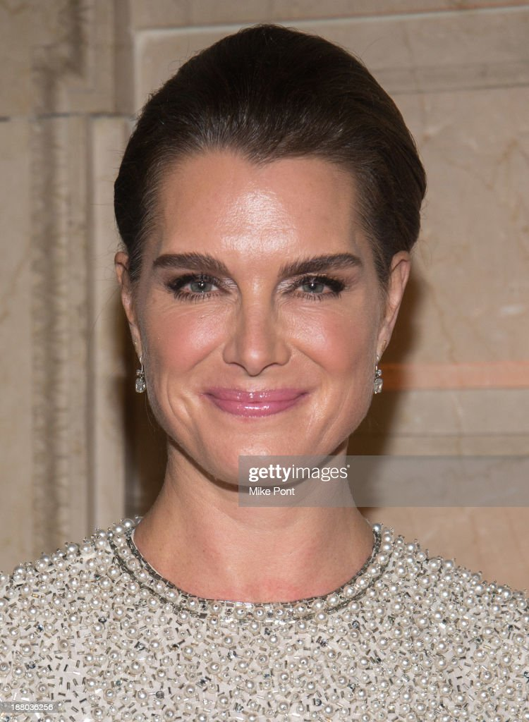 Actress Brooke Shields attends the 20th New York Landmarks Conservancy's Living Landmarks Ceremony at The Plaza Hotel on November 14, 2013 in New York City.