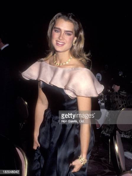 Actress Brooke Shields attends the Sixth Annual Gala Italia Awards Dinner on November 30 1990 at the Marriott Marquis Hotel in New York City