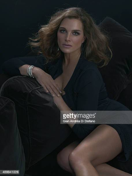 Actress Brooke Shields is photographed for Social Life on July 18 in New York City PUBLISHED IMAGE