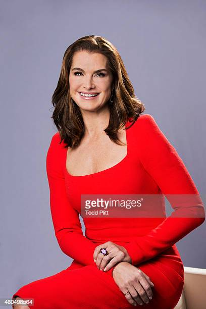 Actress Brooke Shields is photographed for USA Today on November 14 2014 in New York City PUBLISHED IMAGE