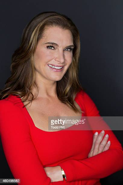 Actress Brooke Shields is photographed for USA Today on November 14 2014 in New York City