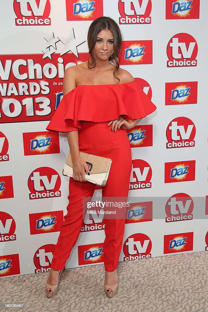 Actress Brooke Vincent attends the TV Choice Awards 2013 at The Dorchester on September 9, 2013 in London, England.