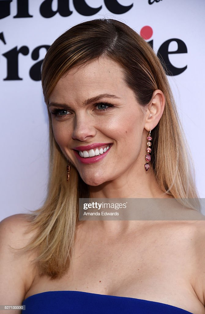 Actress Brooklyn Decker arrives at the Netflix Original Series 'Grace & Frankie' Season 2 premiere at the Harmony Gold Theater on May 1, 2016 in Los Angeles, California.