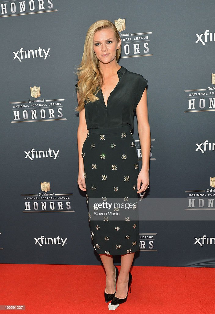 Actress Brooklyn Decker attends the 3rd Annual NFL Honors at Radio City Music Hall on February 1, 2014 in New York City.