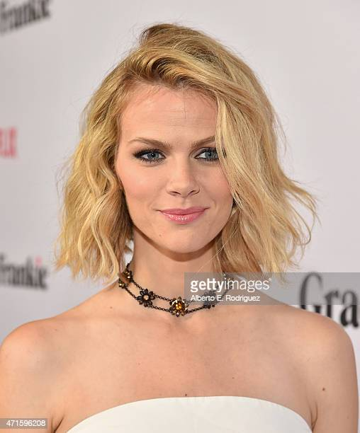 Actress Brooklyn Decker attends the premiere of Netflix's 'Grace and Frankie' at Regal Cinemas LA Live on April 29 2015 in Los Angeles California