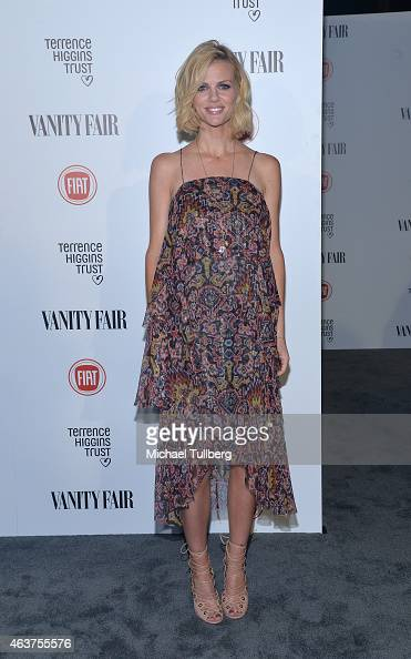 Actress Brooklyn Decker attends the Vanity Fair And Fiat Toast To 'Young Hollywood' in support of the Terrence Higgins Trust at No Vacancy on...