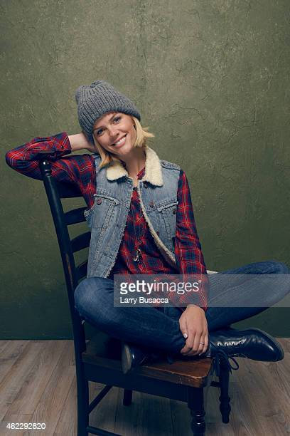 Actress Brooklyn Decker of 'Results' poses for a portrait at the Village at the Lift Presented by McDonald's McCafe during the 2015 Sundance Film...
