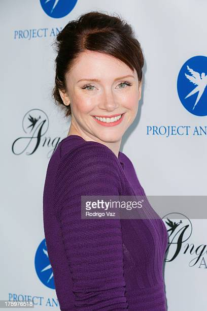 Actress Bryce Dallas Howard arrives at Project Angel Food's Annual Angel Awards 2013 honoring Jane Lynch at Project Angel Food on August 10 2013 in...