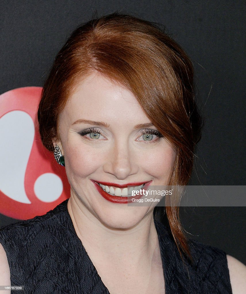 Actress Bryce Dallas Howard arrives at the Lifetime movie premiere of 'Call Me Crazy: A Five Film' at Pacific Design Center on April 16, 2013 in West Hollywood, California.