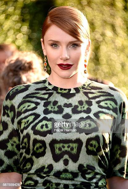 Actress Bryce Dallas Howard arrives at the Premiere Of Disney's 'Pete's Dragon' at the El Capitan Theatre on August 8 2016 in Hollywood California