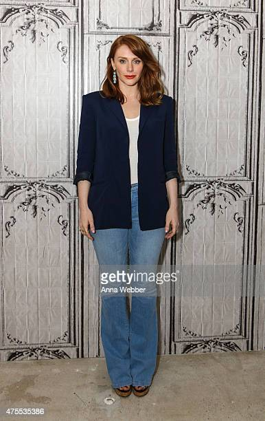 Actress Bryce Dallas Howard arrives to AOL BUILD Speaker Series Bryce Dallas Howard Discusses Her New Film 'Jurassic World' at AOL Studios In New...