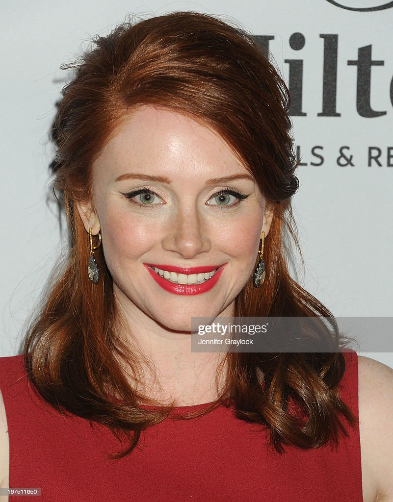 Actress Bryce Dallas Howard attends the 2013 Tribeca Film Festival awards at The Conrad New York on April 25, 2013 in New York City.