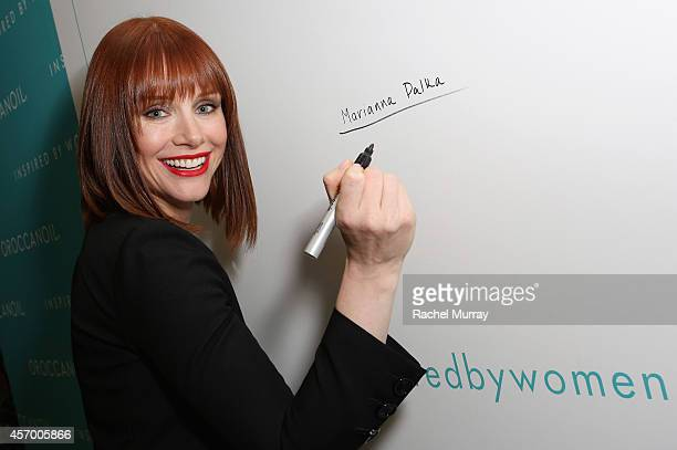 Actress Bryce Dallas Howard attends the 2014 Variety Power of Women presented by Lifetime at Beverly Wilshire Four Seasons Hotel on October 10 2014...