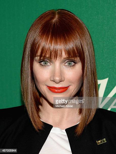 Actress Bryce Dallas Howard attends the 2014 Variety Power of Women presented by Lifetime at Beverly Wilshire Four Seasons on October 10 2014 in Los...