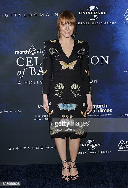 Actress Bryce Dallas Howard attends the 2016 March of Dimes Celebration of Babies at the Beverly Wilshire Four Seasons Hotel on December 9 2016 in...
