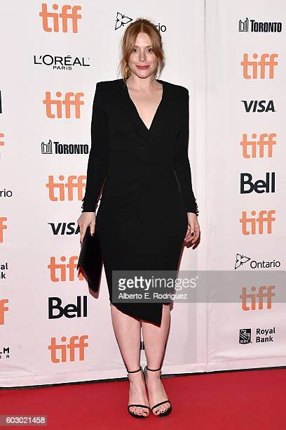 Actress Bryce Dallas Howard attends the 'Nocturnal Animals' premiere during the 2016 Toronto International Film Festival at Princess of Wales Theatre...