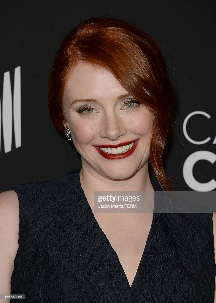 Actress Bryce Dallas Howard attends the premiere of Lifetime's 'Call Me Crazy: A Five Film' at Pacific Design Center on April 16, 2013 in West Hollywood, California.