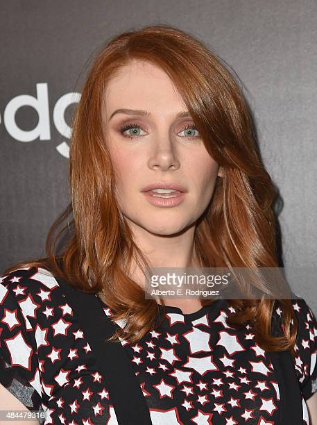Actress Bryce Dallas Howard attends the Samsung Galaxy S6 Edge Plus and Note 5 Launch party on August 18 2015 in West Hollywood California