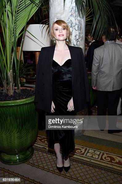 Actress Bryce Dallas Howard attends the The World Premiere Of 'Gold' After Party hosted by TWC Dimension with Popular Mechanics The Palm Court Wild...