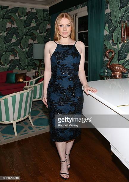 Actress Bryce Dallas Howard attends The Weinstein Company celebrates the cast and filmmakers of 'Sing Street' 'Lion' 'The Founder' and 'Gold' at the...