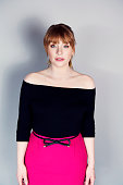 Actress Bryce Dallas Howard is photographed at CinemaCon 2015 on April 12 2016 in Las Vegas Nevada