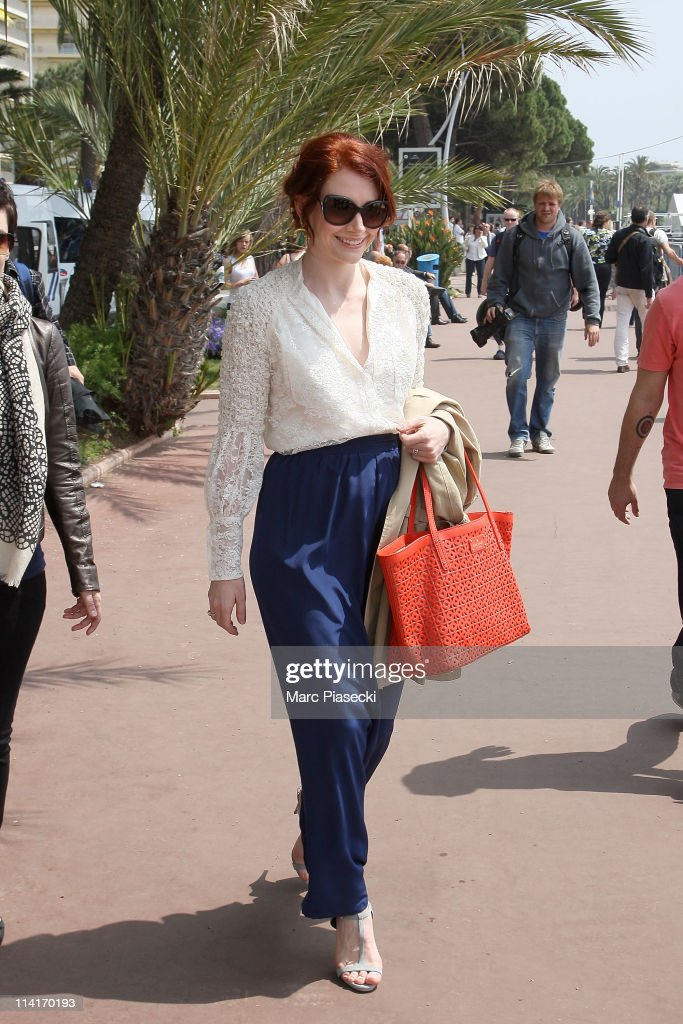 Actress Bryce Dallas Howard sighted on 'La Croisette' on May 13, 2011 in Cannes, France.