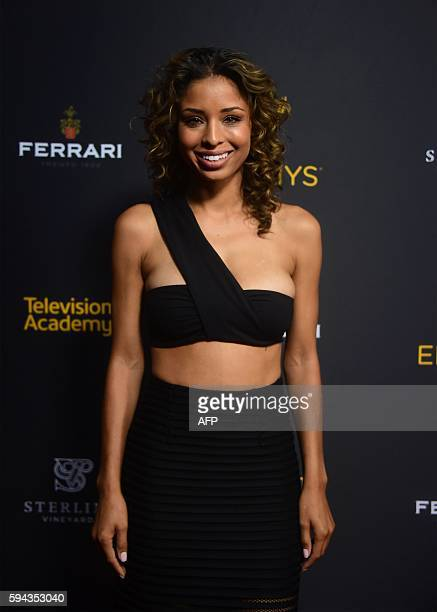 Actress Brytni Sarpy attends the Television Academy's Performers Peer Group Celebration as stars usher in the 68th Emmy Awards Season on August 22...