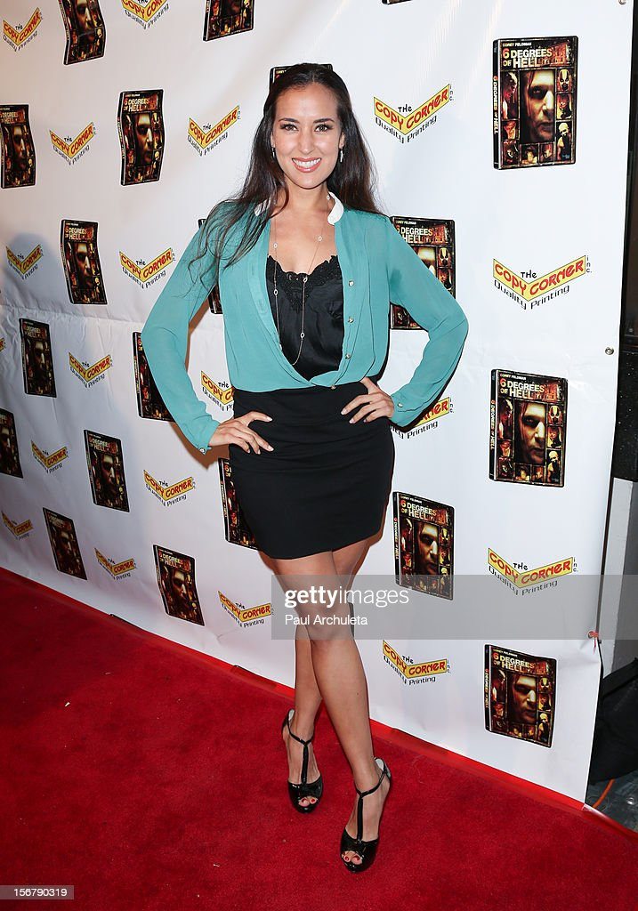 Actress Burgundy Phoenix attends the Premiere of '6 Degrees Of Hell' at Laemmle's Music Hall 3 on November 20, 2012 in Beverly Hills, California.