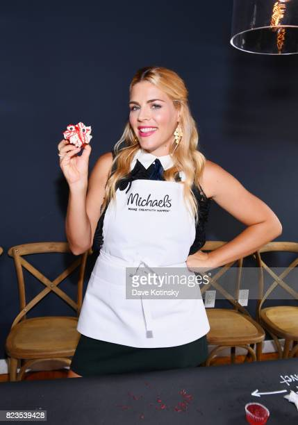 Actress Busy Philipps appears as Michaels and Busy Philipps host their Fall making event on July 27 2017 in New York City