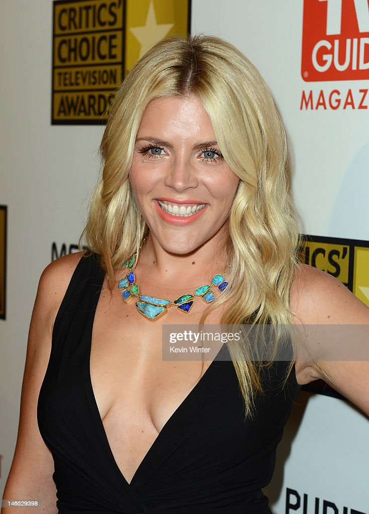 Actress <a gi-track='captionPersonalityLinkClicked' href=/galleries/search?phrase=Busy+Philipps&family=editorial&specificpeople=216133 ng-click='$event.stopPropagation()'>Busy Philipps</a> arrives at Broadcast Television Journalists Association Second Annual Critics' Choice Awards at The Beverly Hilton Hotel on June 18, 2012 in Beverly Hills, California.